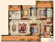 充耀盛荟4室2厅2卫157平方米户型图