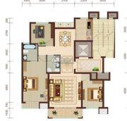 燕赵锦河湾3室2厅2卫119平方米户型图