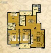芙蓉山庄3室2厅2卫133平方米户型图