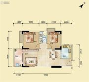 富丽嘉园2室2厅1卫0平方米户型图