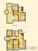 西班牙小镇4室2厅2卫0平方米户型图