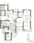 海陵岛恒大御景湾3室2厅2卫86--120平方米户型图