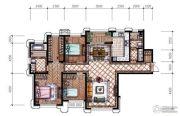 东港第4室2厅1卫171平方米户型图