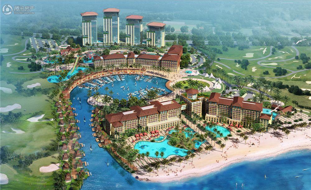 碧海国际度假区效果图
