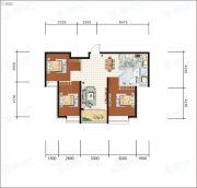 沧州恒大城3室2厅1卫106平方米户型图