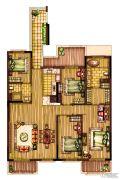 华润原墅4室2厅2卫0平方米户型图