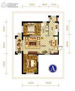 永安城2室1厅1卫0平方米户型图