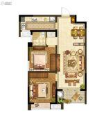 升龙又一城2室2厅1卫0平方米户型图