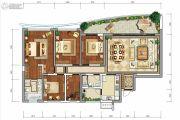 龙湖世纪峰景5室2厅2卫188平方米户型图