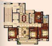 苏州唐宁府4室2厅2卫143平方米户型图