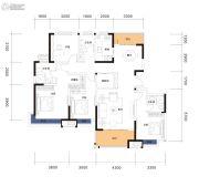 曲江・紫金城4室2厅3卫158平方米户型图