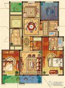 姑苏金茂府3室2厅2卫140平方米户型图