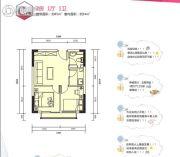 中天・悦府2室1厅1卫0平方米户型图
