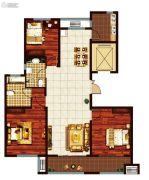 鸿泰・花漾城3室2厅2卫141--147平方米户型图