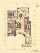 益田瓦萨小镇3室2厅2卫170平方米户型图