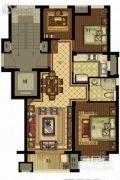 雷威沁园3室2厅1卫0平方米户型图
