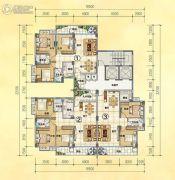 润晖新城0室0厅0卫92--116平方米户型图