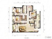 万科城4室2厅2卫112平方米户型图