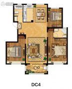 美麟・常青藤3室2厅2卫121平方米户型图