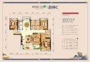 奥园梅江天韵4室2厅3卫175平方米户型图