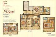 宏地・温州望府5室2厅2卫152平方米户型图