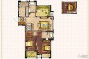 兰陵锦轩3室2厅2卫118平方米户型图