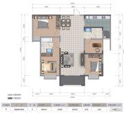 医大广场4室2厅2卫123平方米户型图