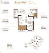 融侨城3室2厅1卫99--100平方米户型图