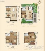 剑桥皇家花园5室4厅3卫0平方米户型图