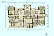 星河湾半岛5室3厅5卫682平方米户型图