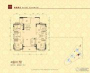 华夏阳光5室2厅3卫170平方米户型图
