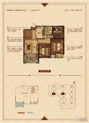华锦锦园3室2厅1卫90--97平方米户型图