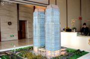 上海中心城开国际沙盘图