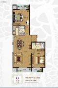 三岛明珠2室2厅2卫178平方米户型图