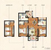九洲金东方2室2厅2卫102平方米户型图