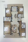 苏州湾壹号4室2厅3卫175平方米户型图