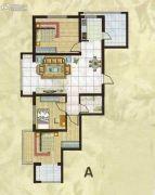 欧典・宏峪3室2厅1卫109平方米户型图