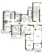 恒大御景湾2室2厅1卫81--105平方米户型图