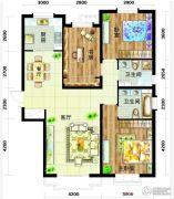 天庆国际新城3室2厅2卫147平方米户型图