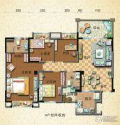 封开碧桂园4室2厅2卫80--150平方米户型图