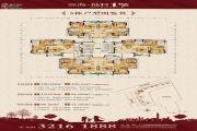 源海仙村一号86--128平方米户型图
