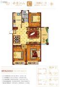 元泰・中华园2期3室2厅1卫125--130平方米户型图