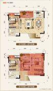 置地城二期・天玺4室3厅2卫104平方米户型图