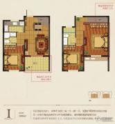 华庭常青墅3室2厅2卫89平方米户型图