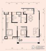 梧桐邑・九棠府3室2厅2卫109平方米户型图