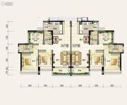 颐安・��景湾2室2厅2卫105平方米户型图