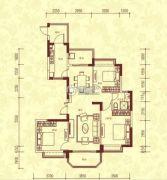 恒大名都3室2厅2卫139平方米户型图