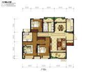 东岭国际城3室2厅2卫0平方米户型图