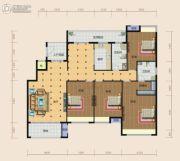 南方梅园4室2厅2卫200平方米户型图