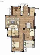 三盛国际公园・香樟里3室2厅1卫89--93平方米户型图